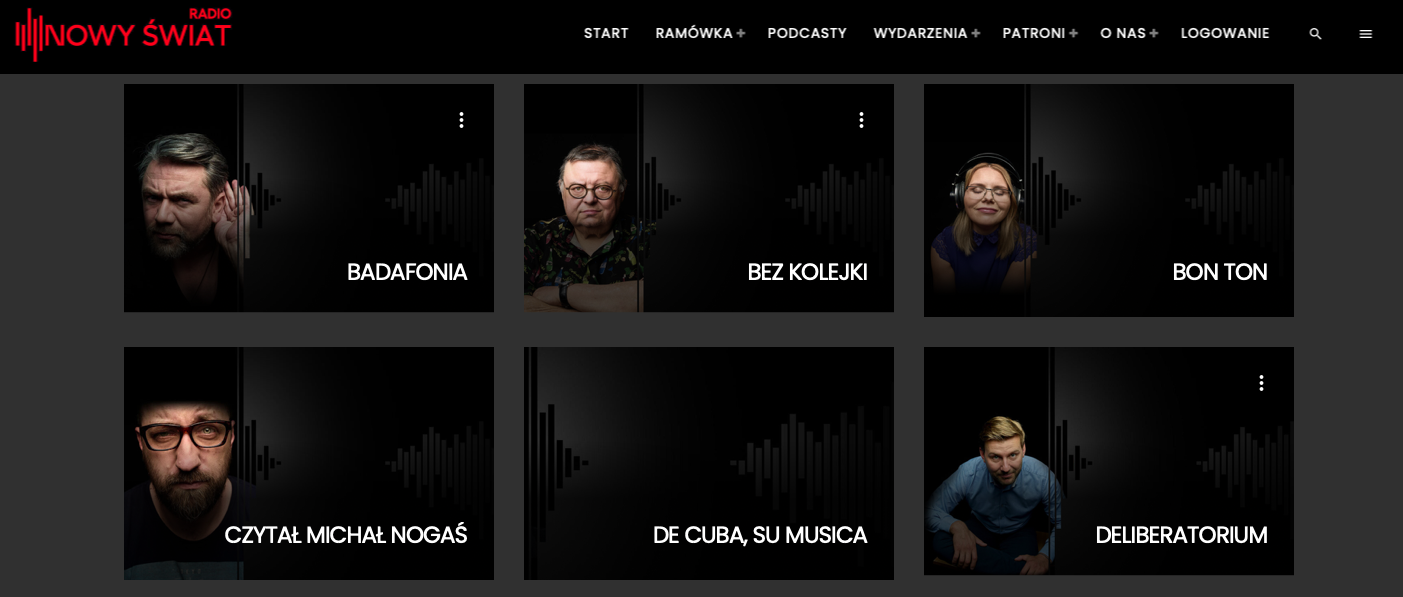 Radio Nowy Świat - ramówka