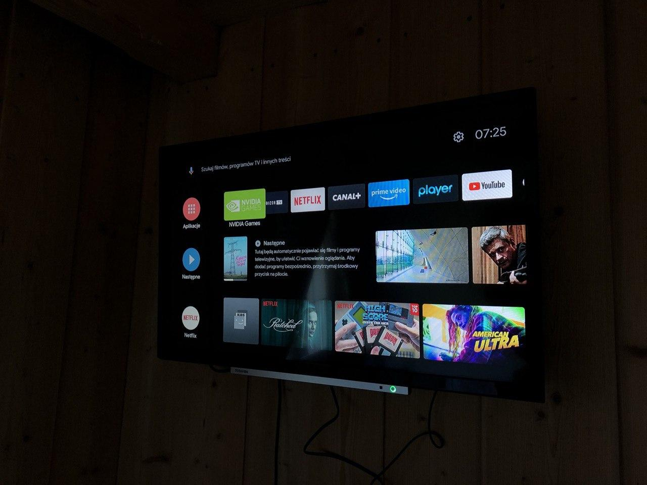 android tv appki vod