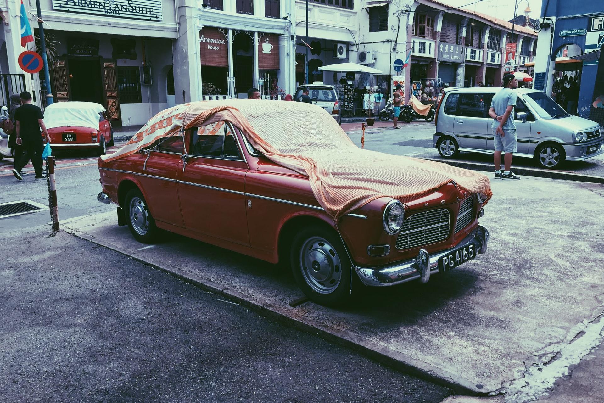 samochód Volvo stary