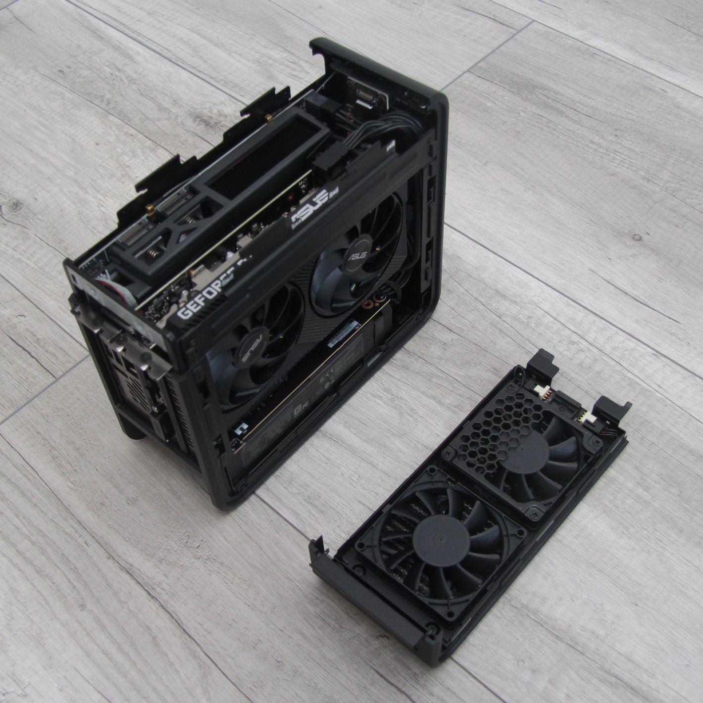 Intel NUC 9 Extreme wnętrze