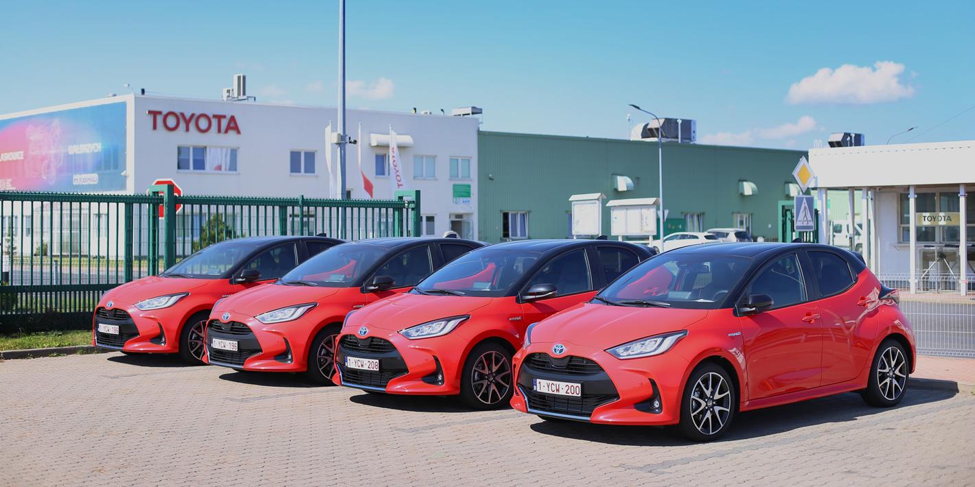 Toyota Yaris Hybrid - fabryka