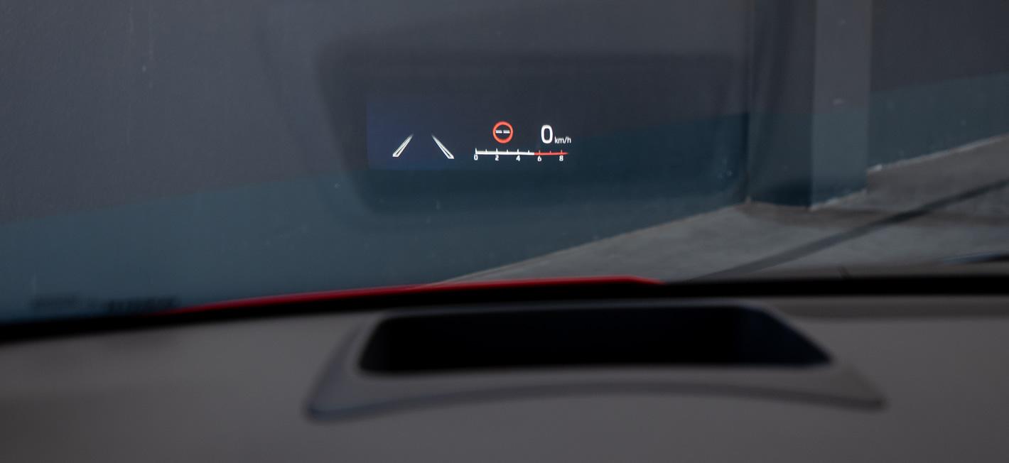 Toyota Yaris Hybrid - HUD