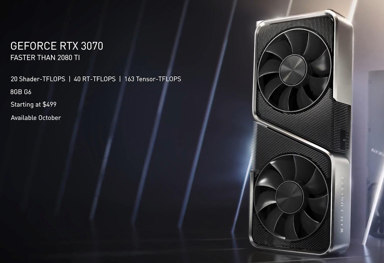 GeForce RTX 3070 8GB