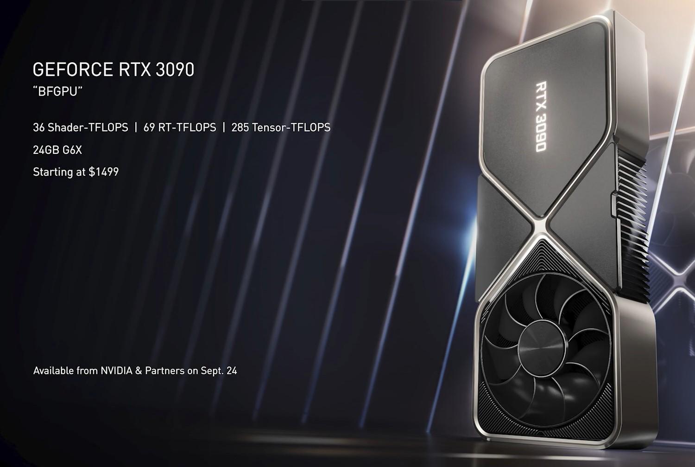 GeForce RTX 3090 24 GB