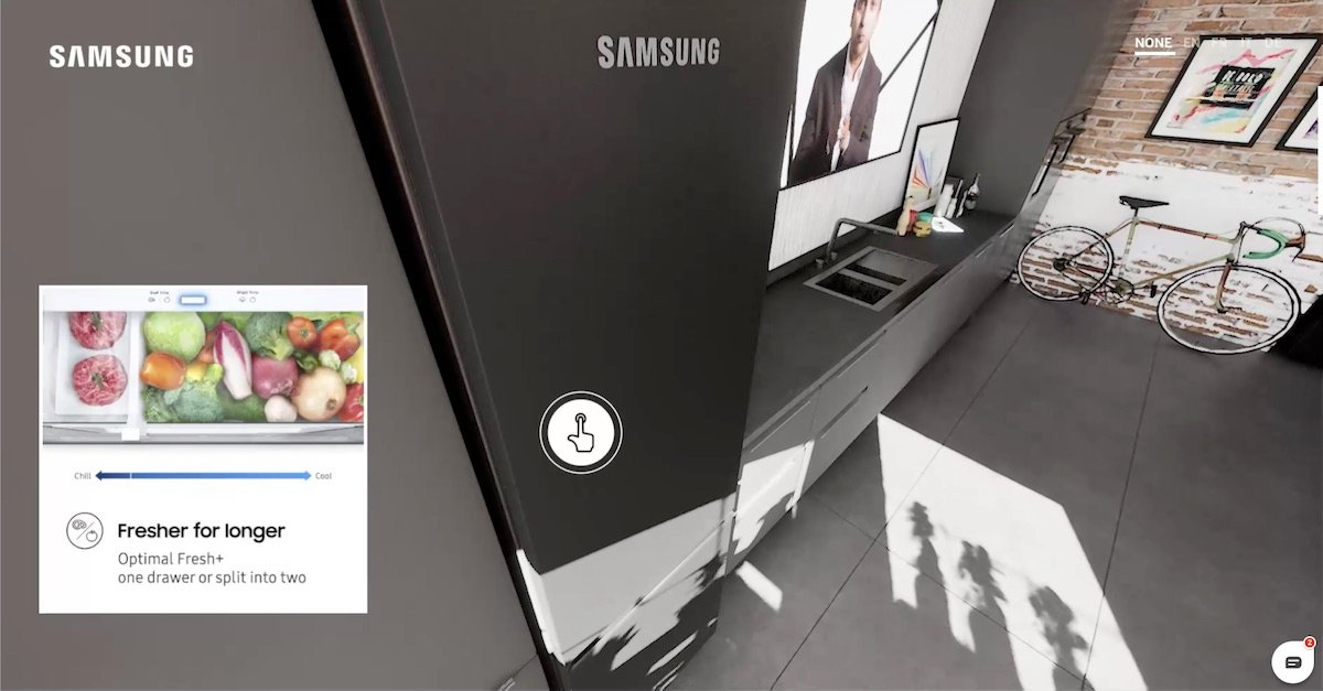 Samsung Life Unstoppable: lodówka