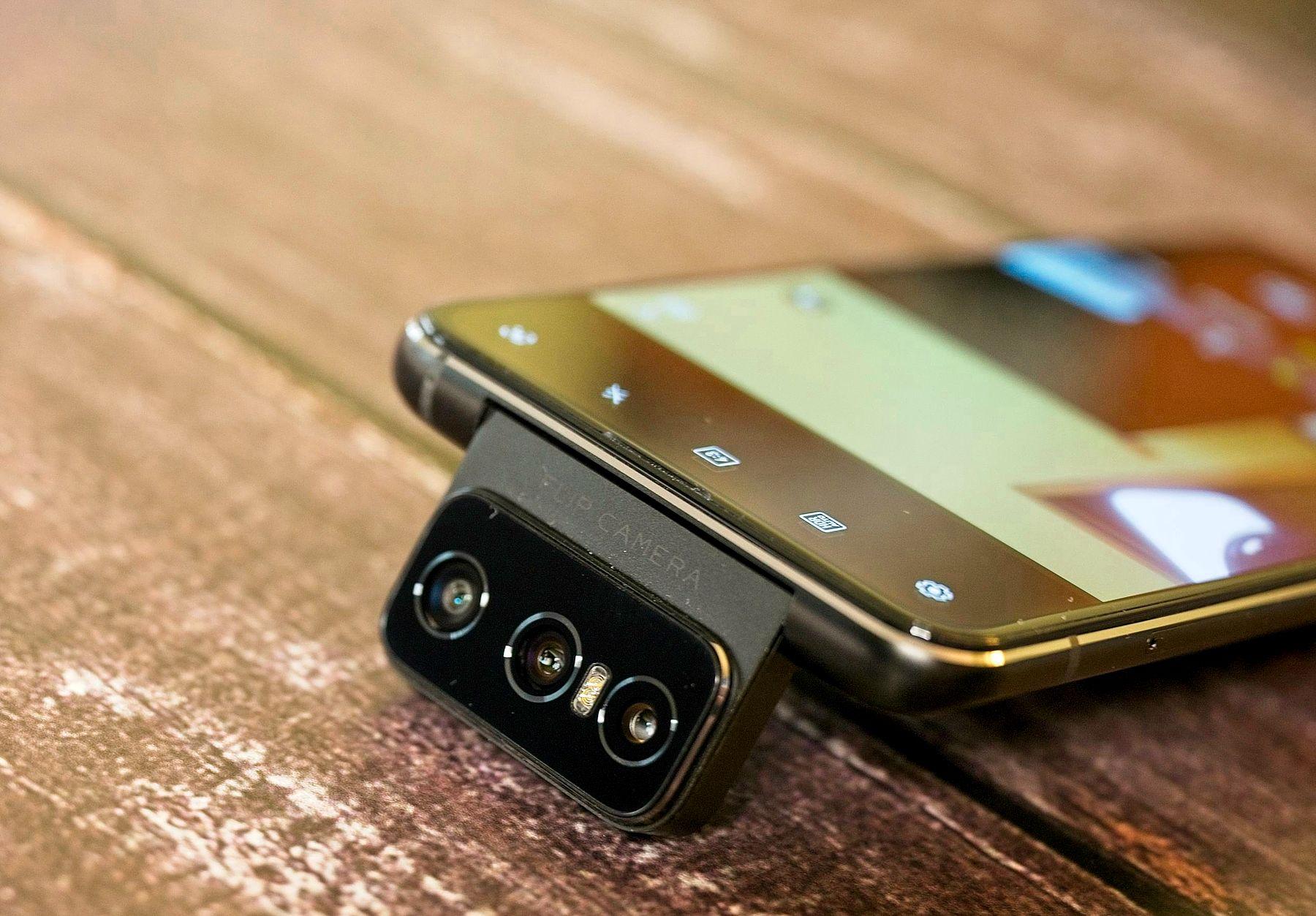 Zenfone 7 aparat