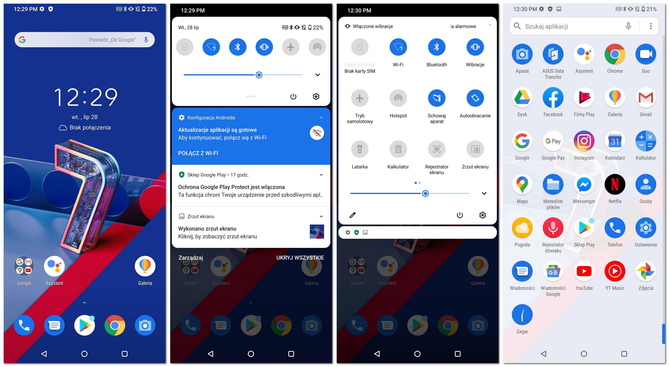 Zenfone 7 Android 10 ZenUI