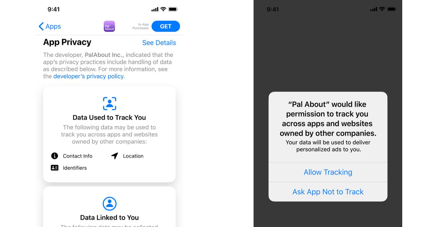app store prywatność