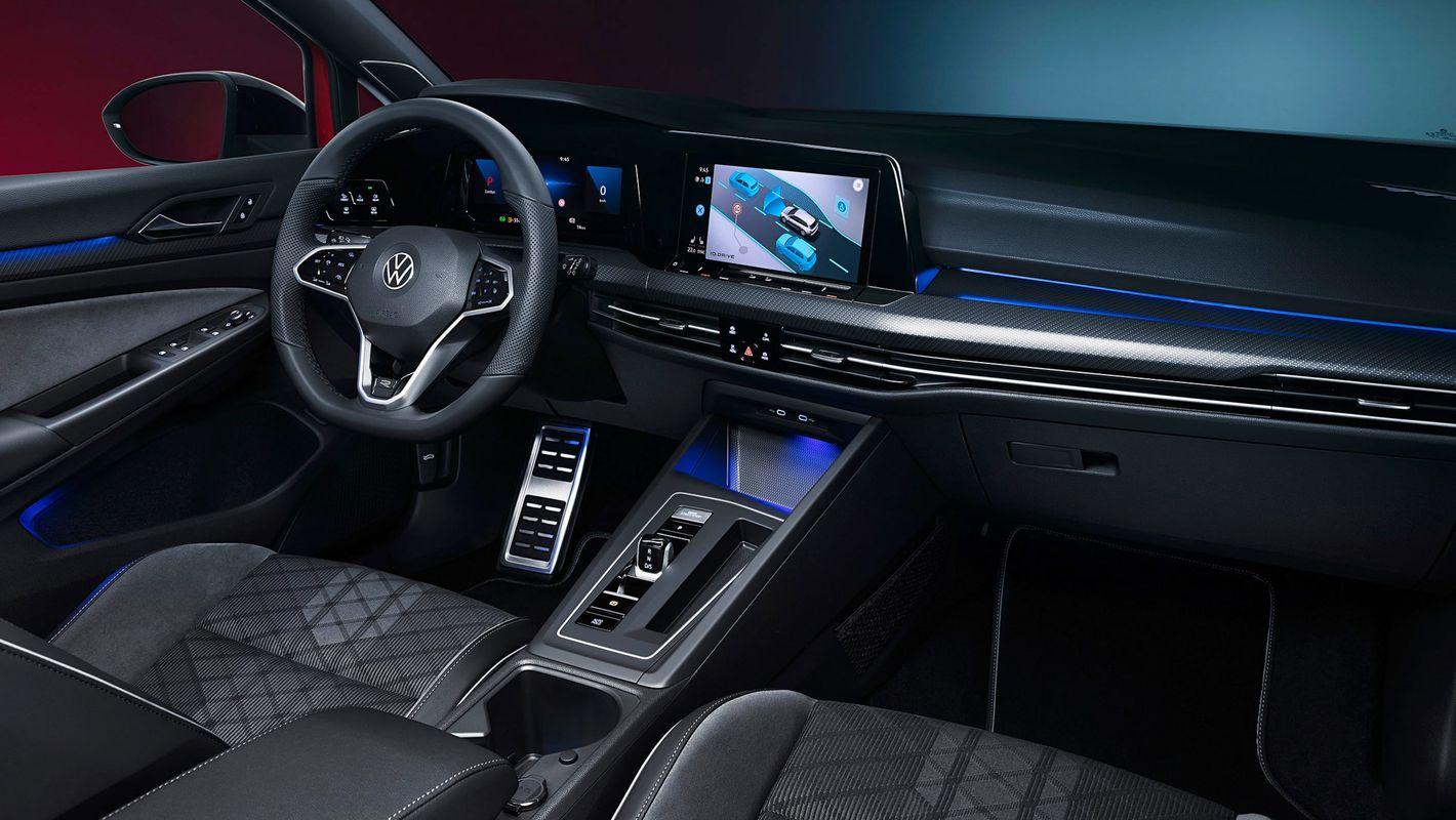 Volkswagen Golf Variant deska rozdzielcza