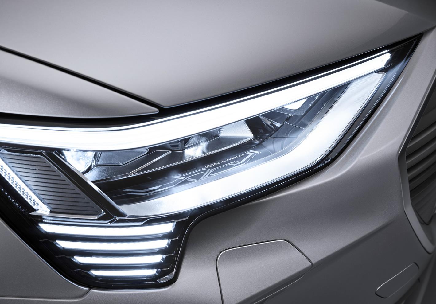 Audi e-tron Sportback 55 quattro - reflektor Matrix LED DMD