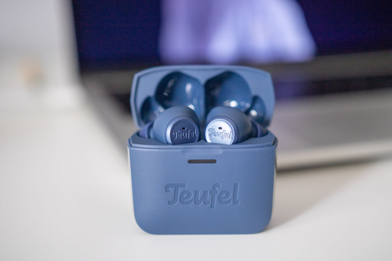 Teufel Airy True Wireless etui i słuchawki