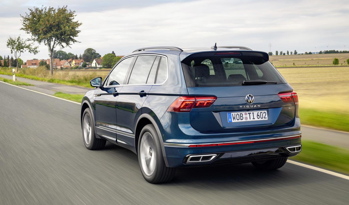 Nowy Volkswagen Tiguan 2020 2021