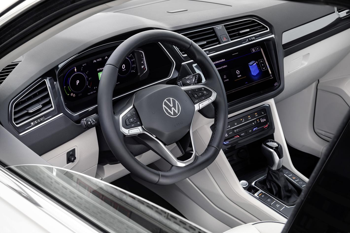 Nowy Volkswagen Tiguan eHybrid