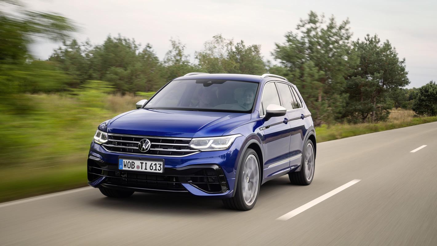 Nowy Volkswagen Tiguan R