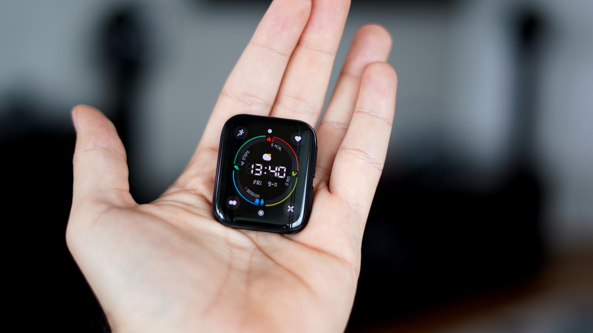 Oppo Watch - zegarek bez paska