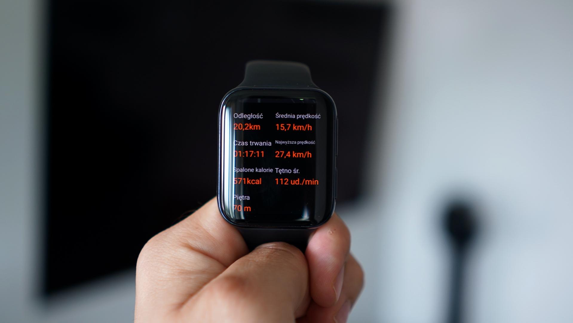 Oppo Watch - ekran zegarka