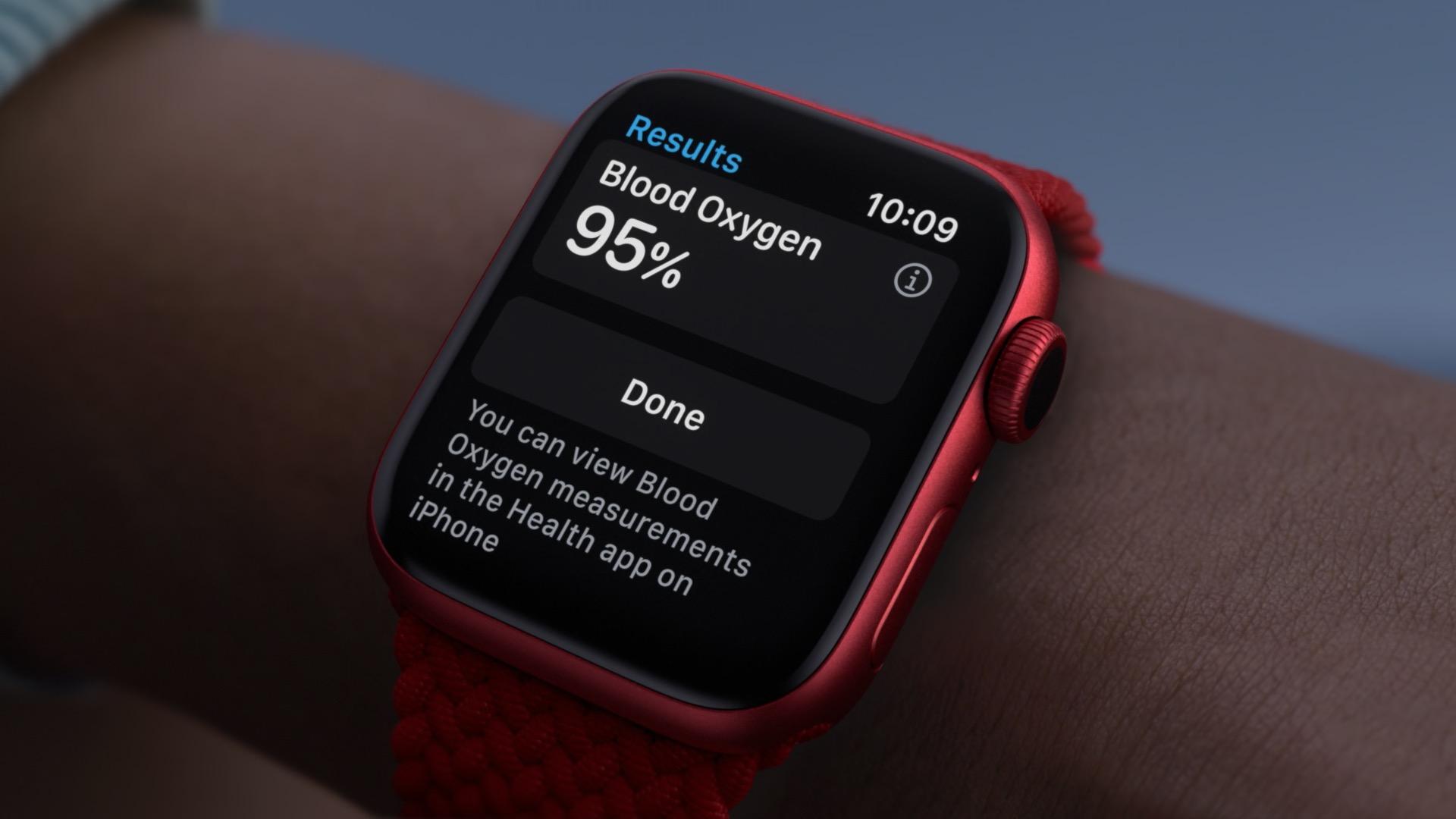 interfejs apple watch series 6