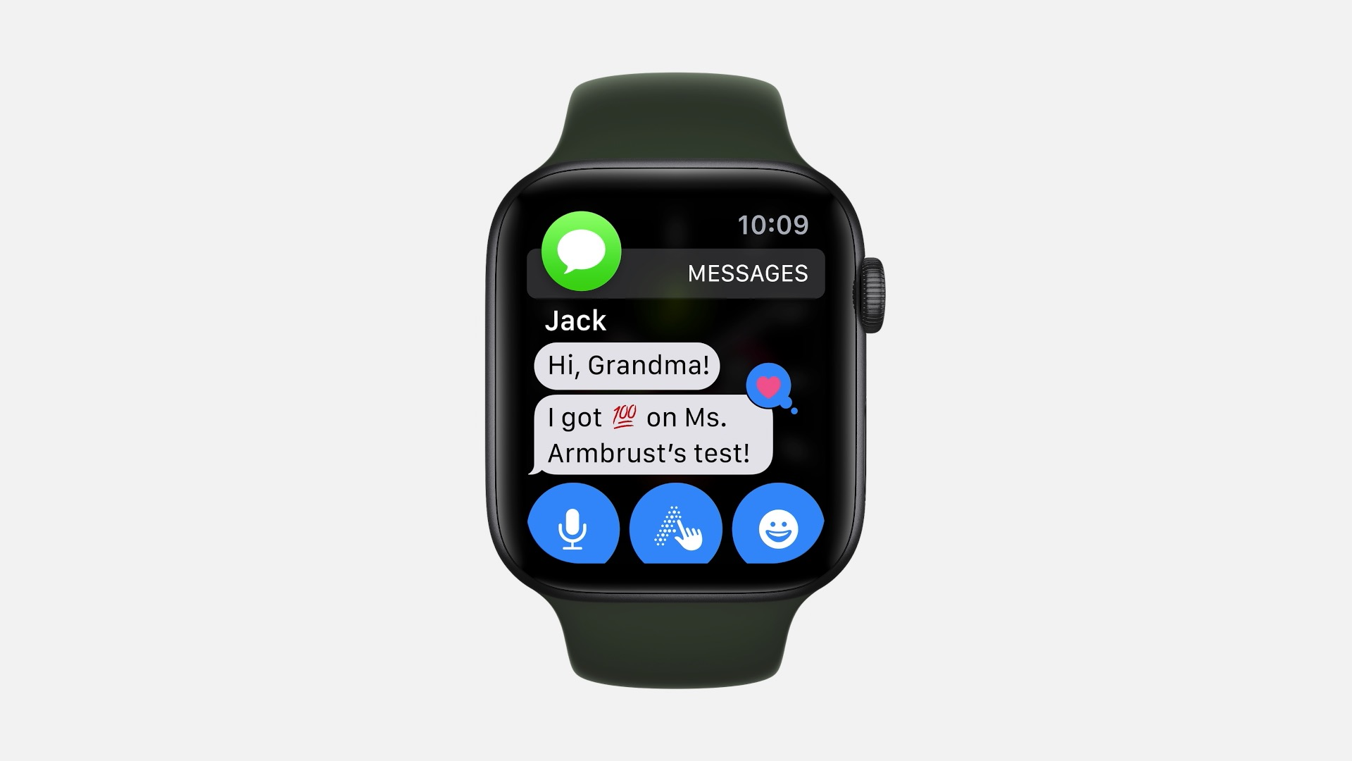Appel Watch SE wiadomości