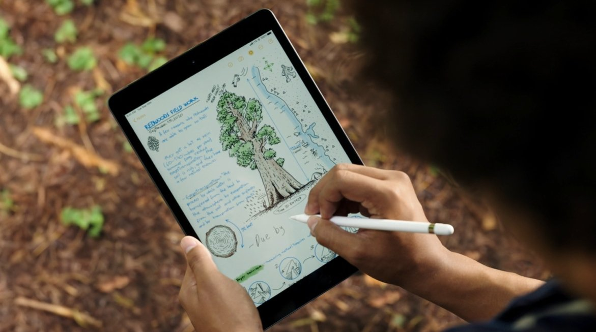 apple ipad 8. generacji z apple pencil