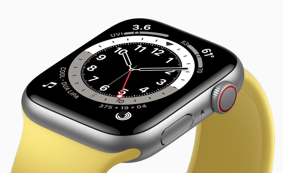 Apple Watch SE zegarek, zdjęcie