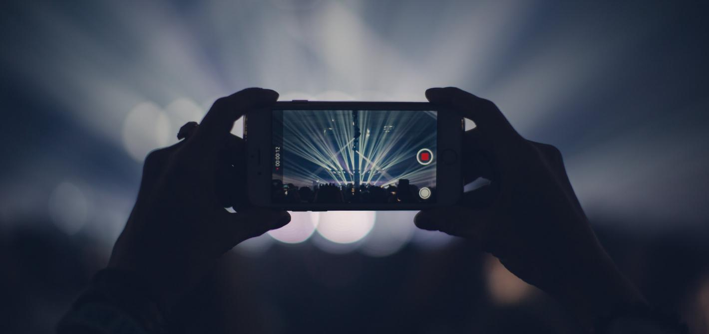 nagrywanie koncertów telefonem