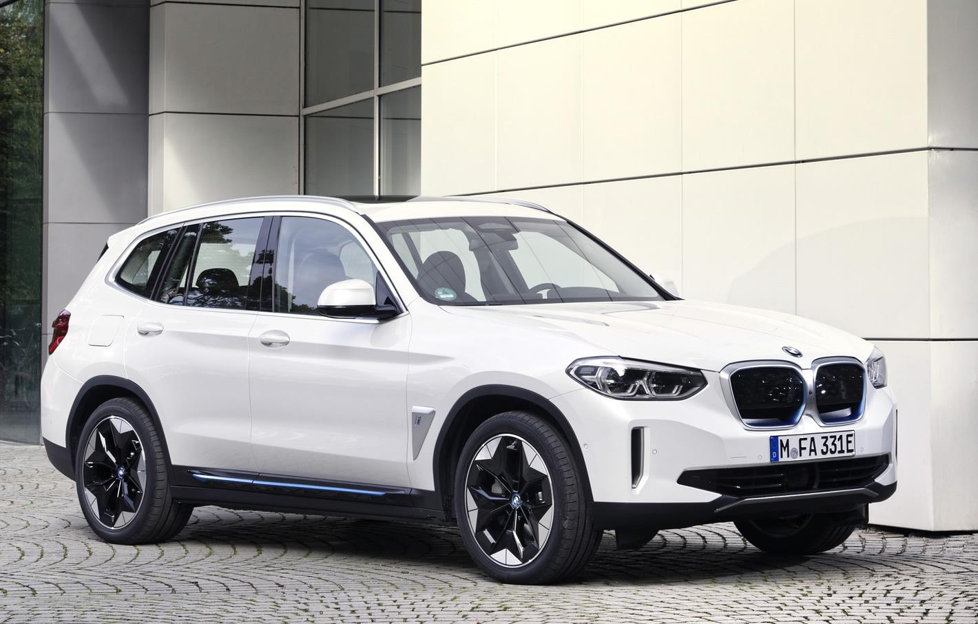 Elektryczne BMW iX3