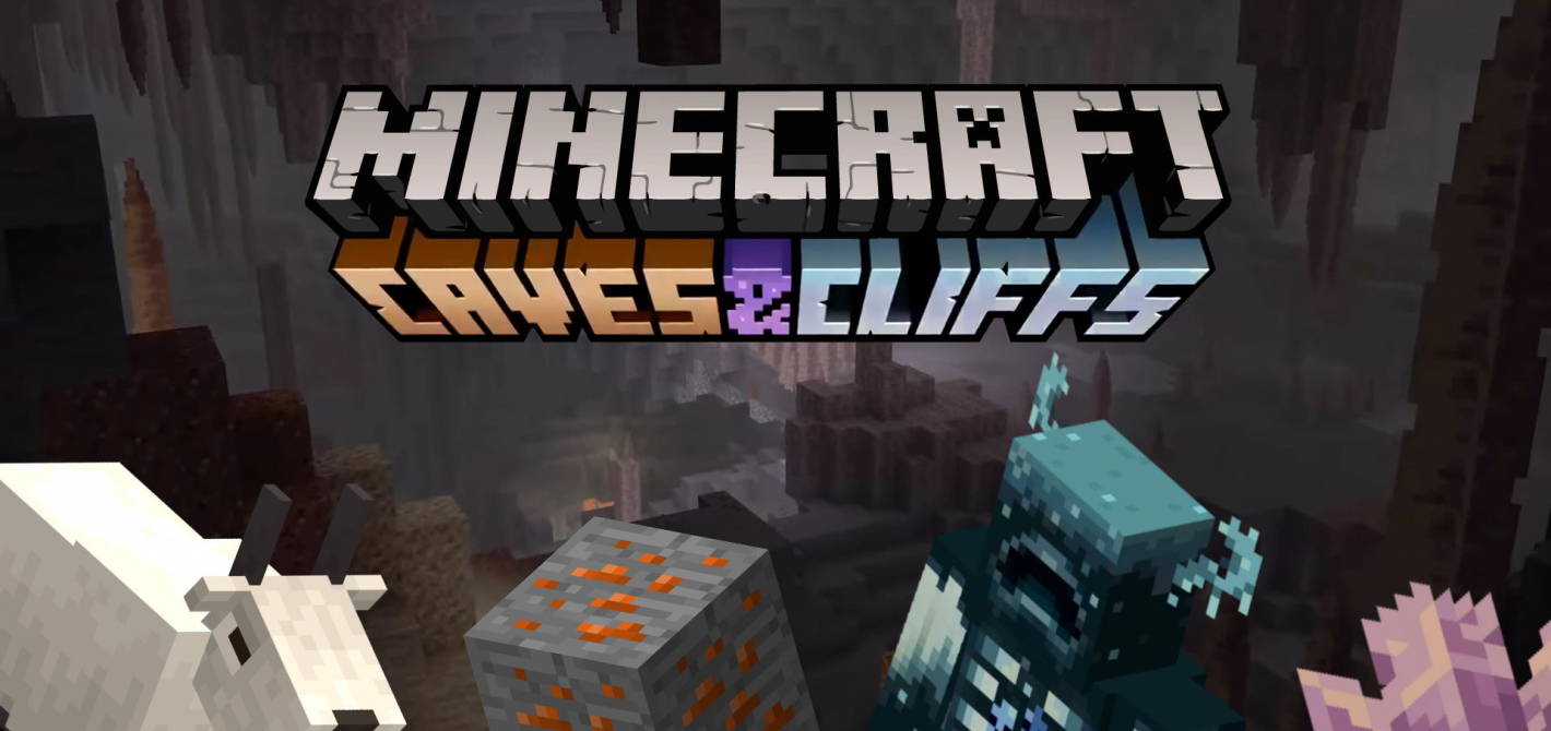 Minecraft 1.17 caves and cliffs