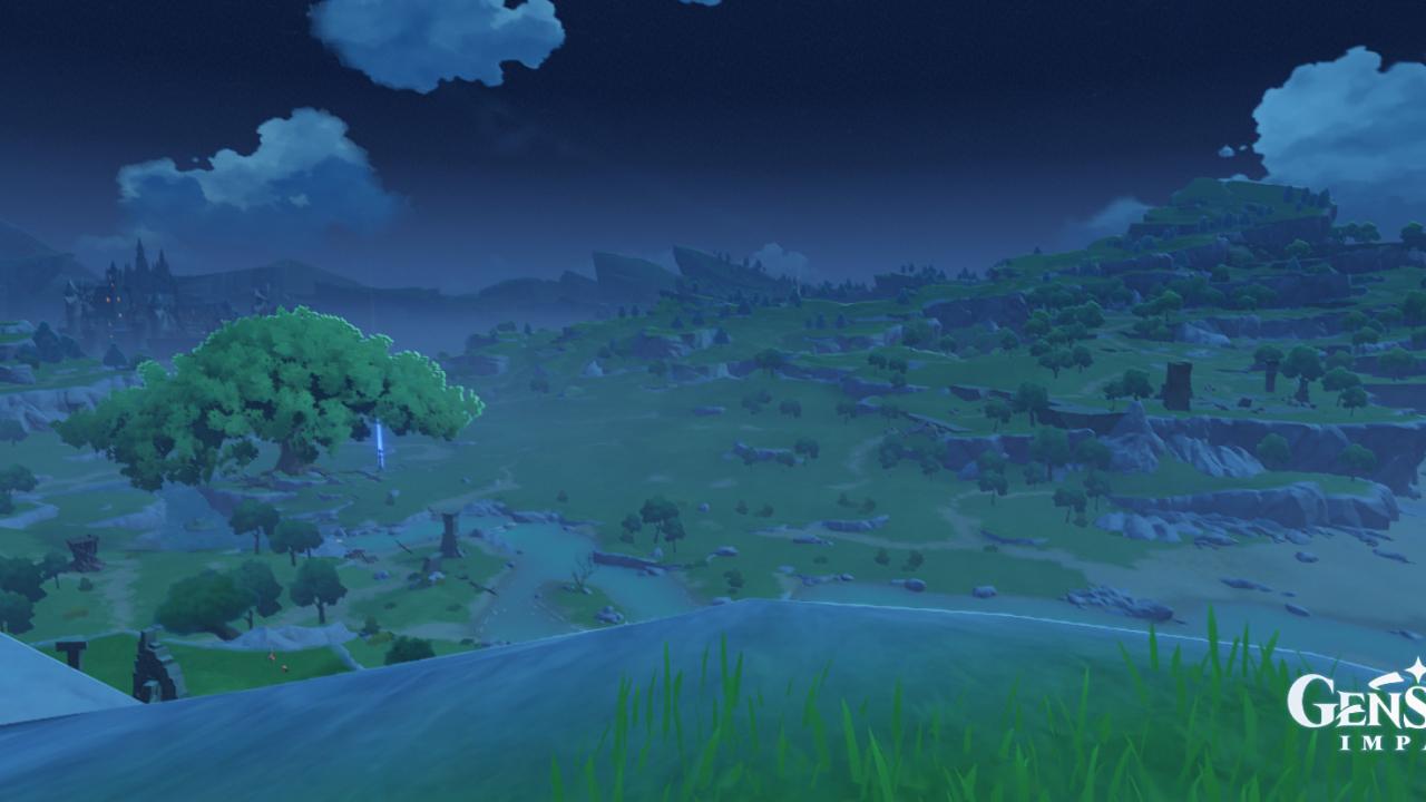 zrzut ekranu z genshin impact