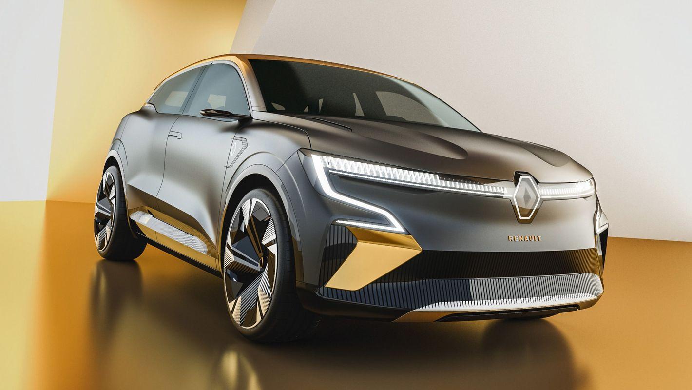Renault Megane eVision przód