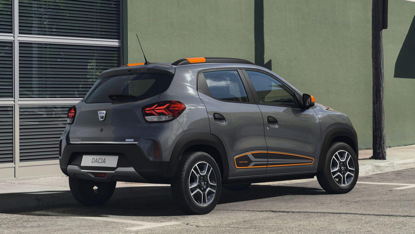 Dacia Spring tył