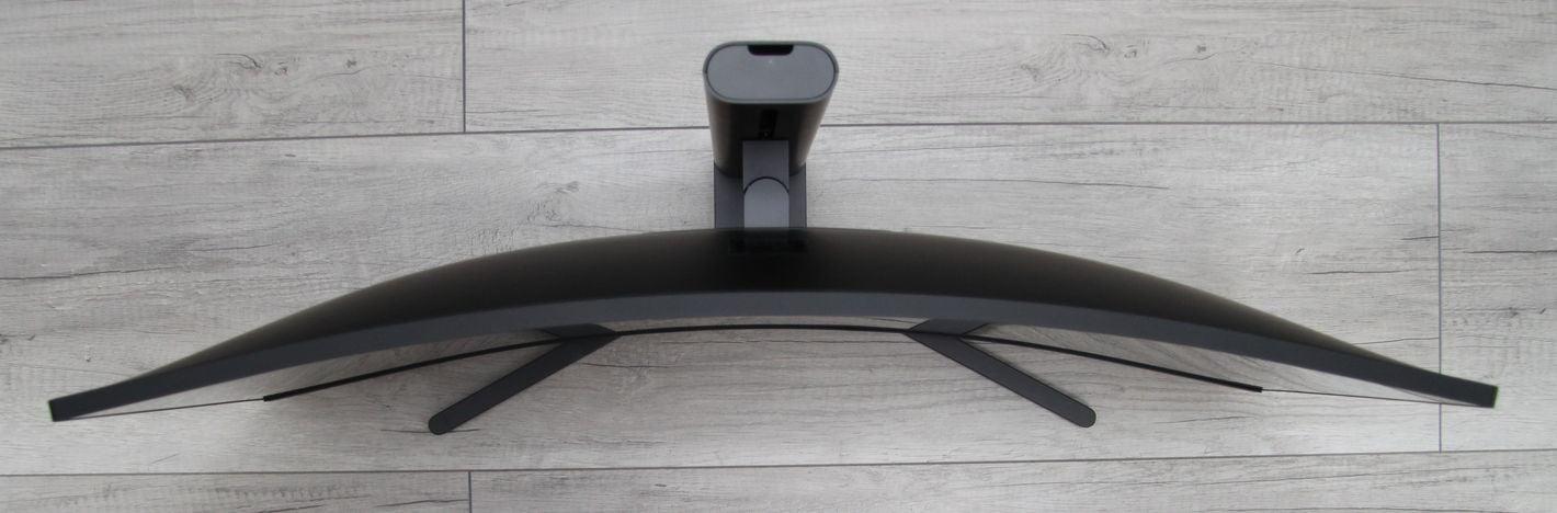 XiaomiMi Curved Gaming 34 widok z góry