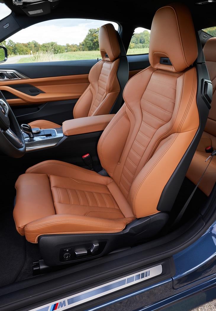BMW M440i xDrive - fotel kierowcy