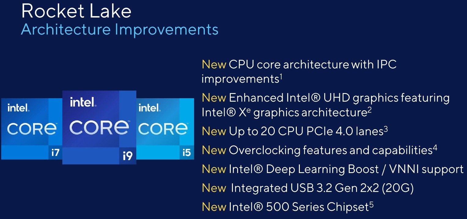 Intel Rocket Lake S