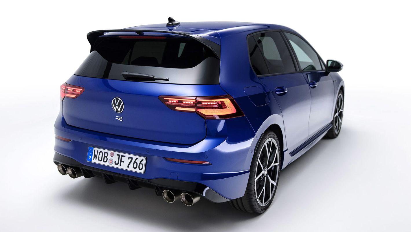Volkswagen Golf R tył