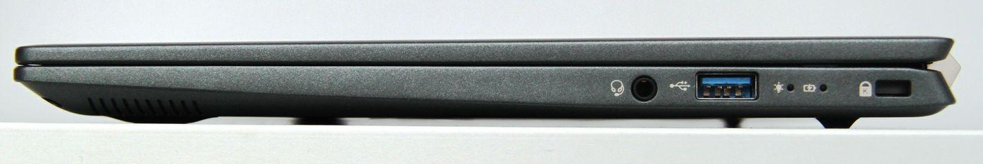 Acer Swift 5 z Intel Tiger Lake prawa strona