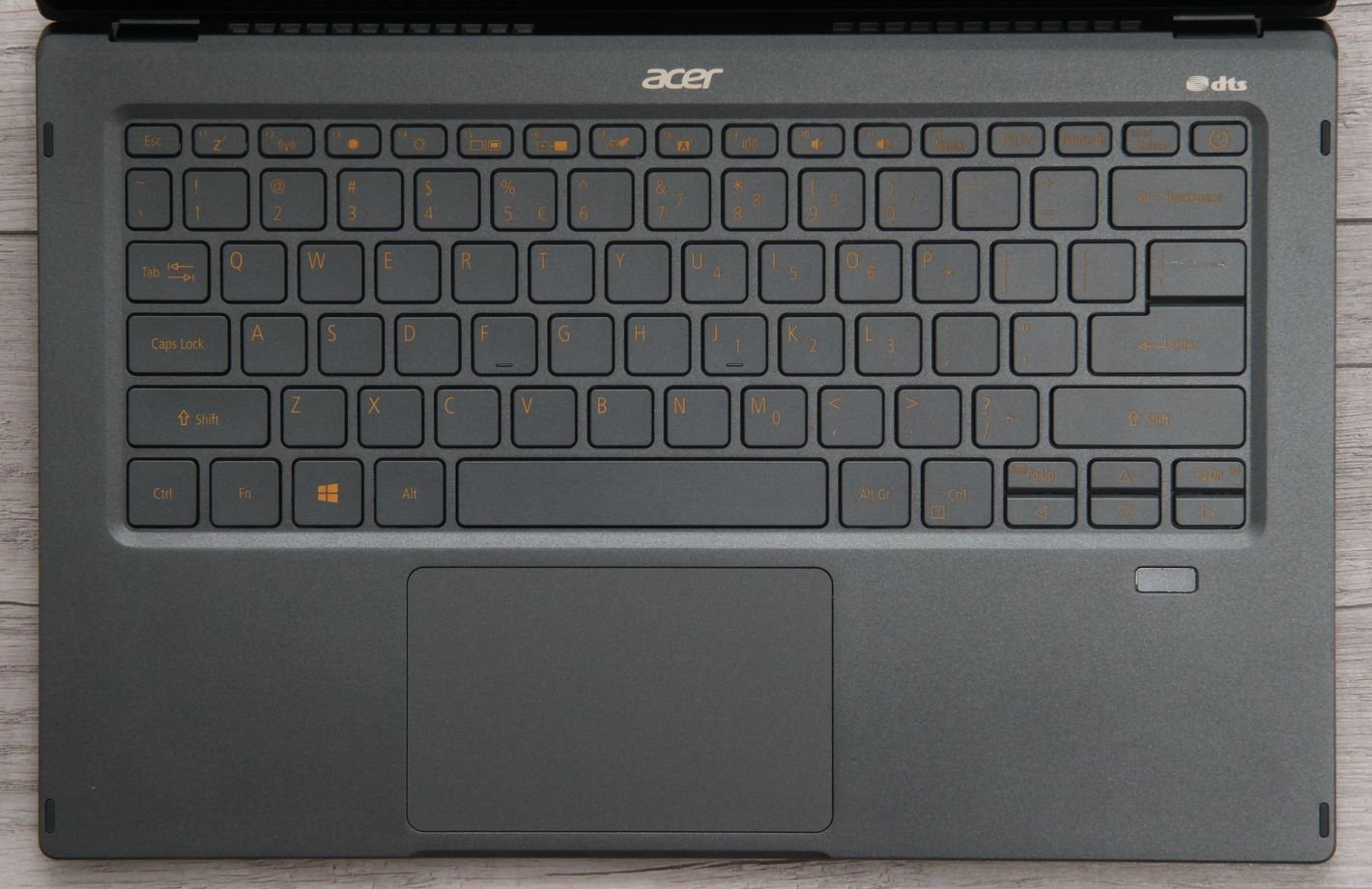Acer Swift 5 z Intel Tiger Lake klawiatura