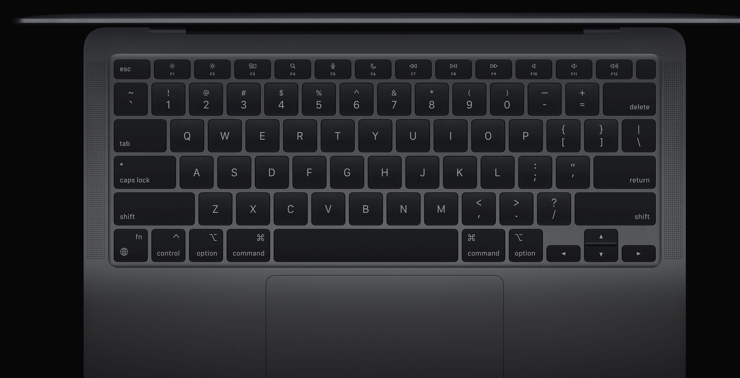 macbook air m1 klawiatura