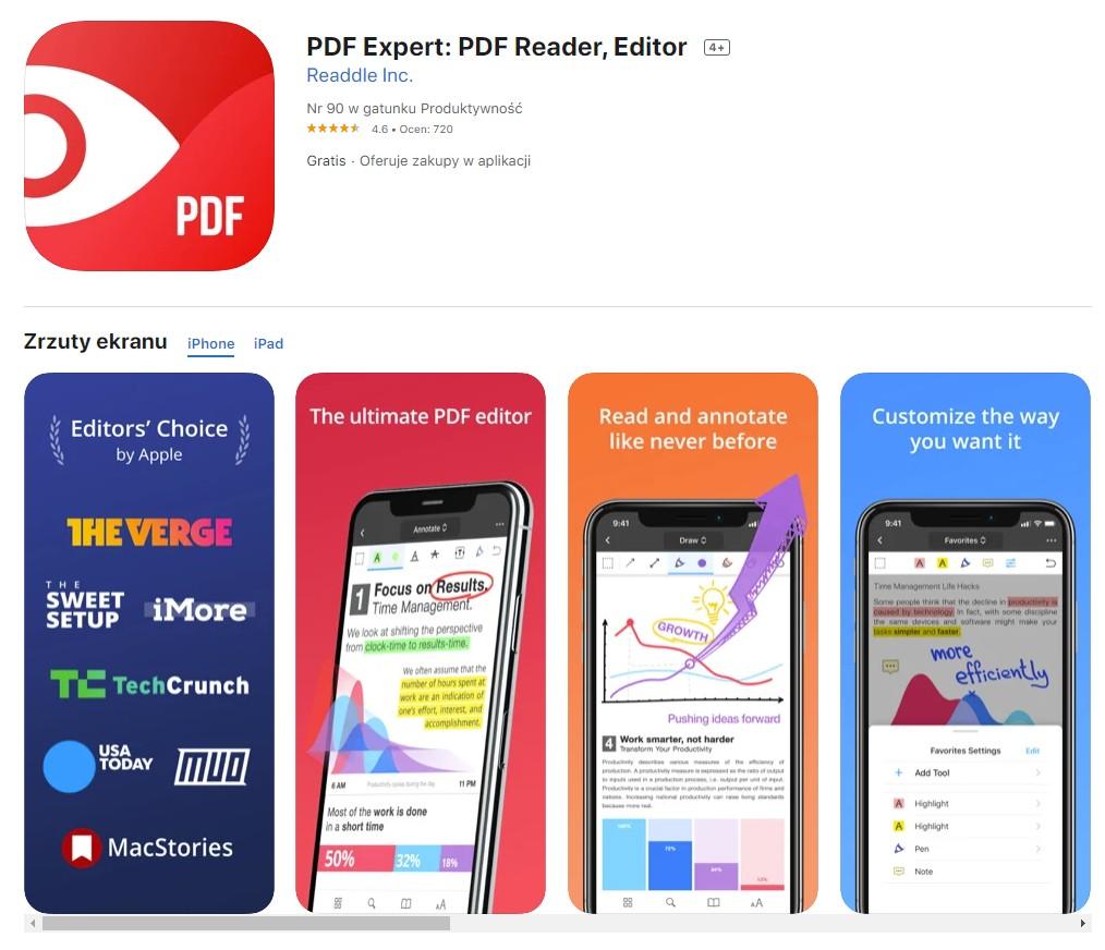 PDF Expert dla iOS