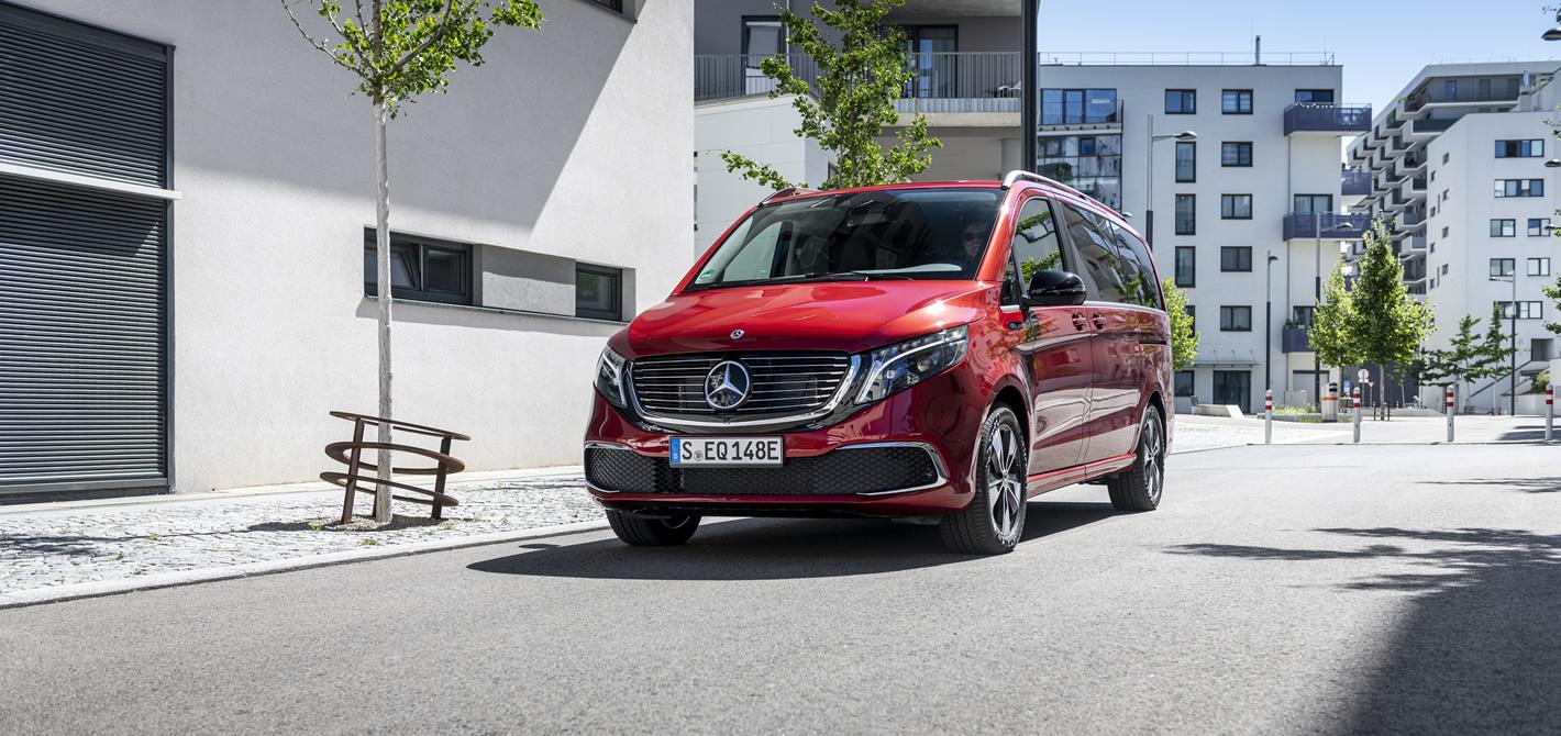 Elektryczny Mercedes-Benz EQV