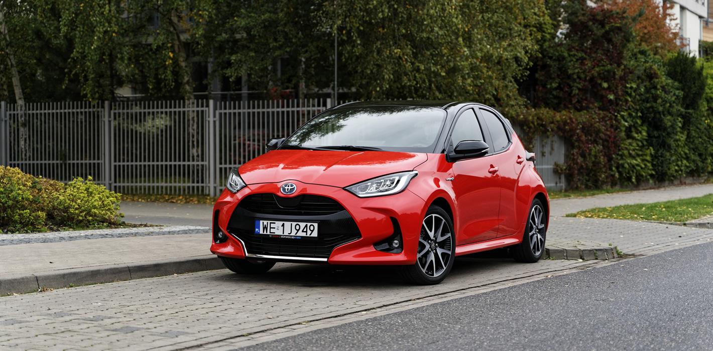 Toyota Yaris Hybrid test