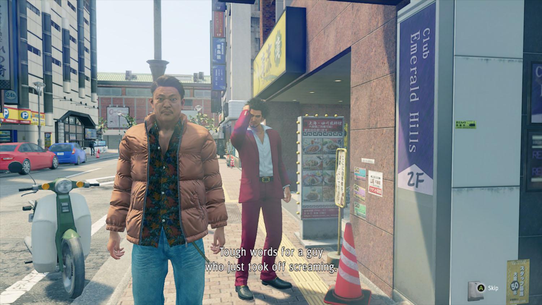 postacie w mieście yakuza like a dragon