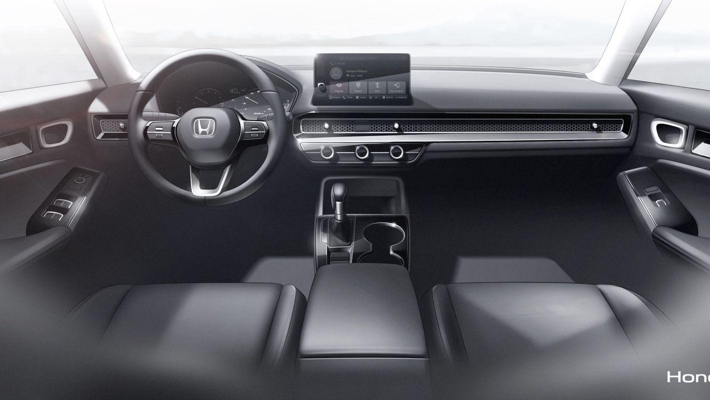 Honda Civic 11. generacji wnętrze