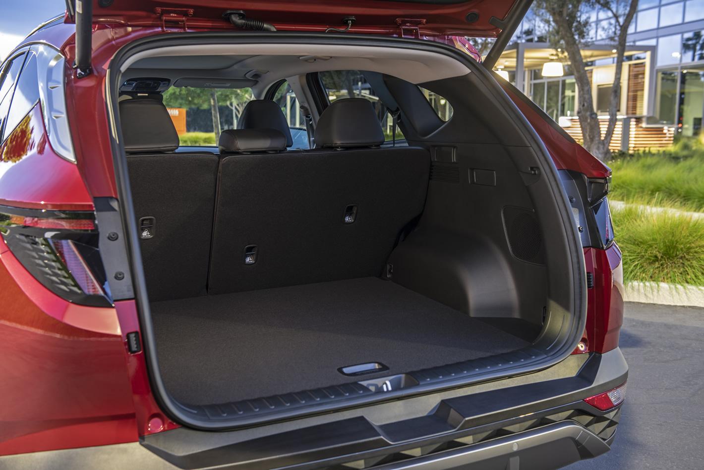 Hyundai Tucson 2020 2021 - bagażnik