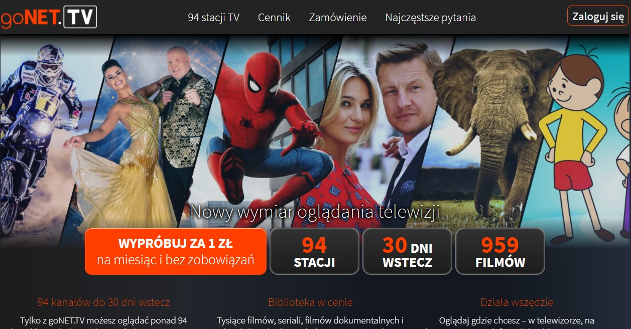 Nowa usługa telewizji przez Internet. Blisko 100 kanałów online na goNET.tv