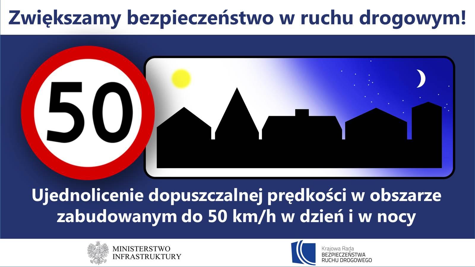 Ujednolicenie prędkości w terenie zabudowanym