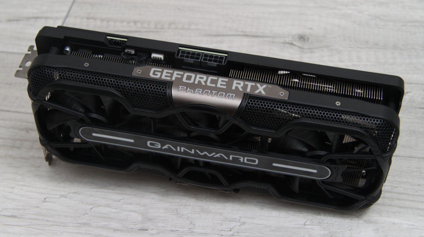 Gainward Phantom GeForce RTX 3070 8 GB gniazda zasilania