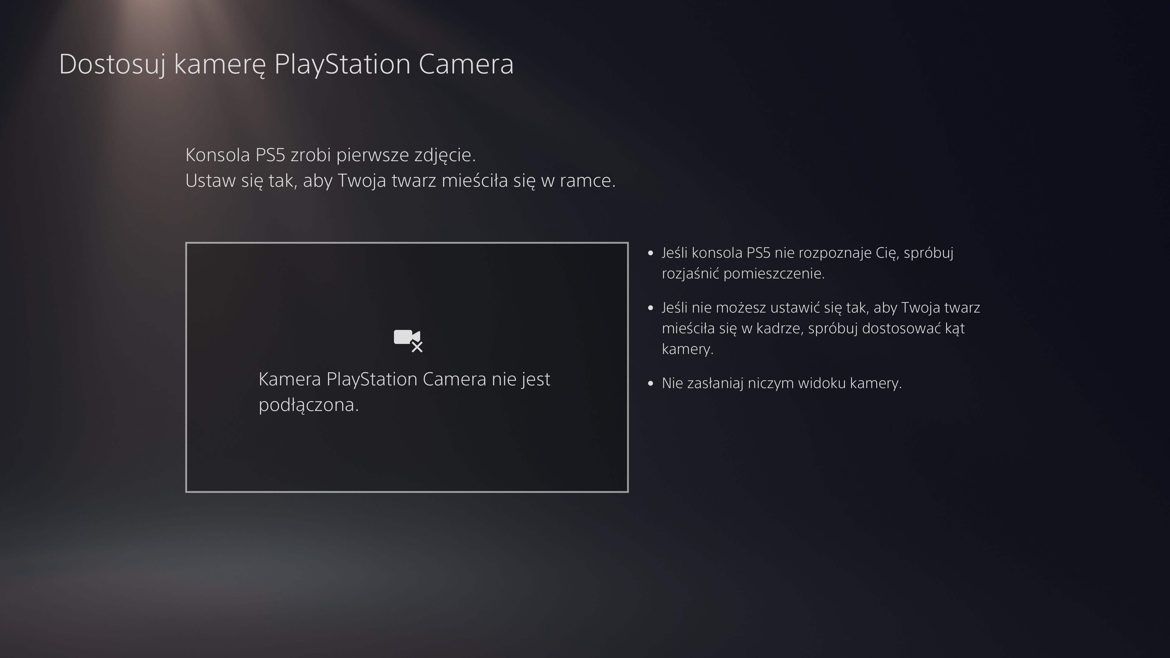 Dostosowywanie  Sony PlayStation 5 HD Camera
