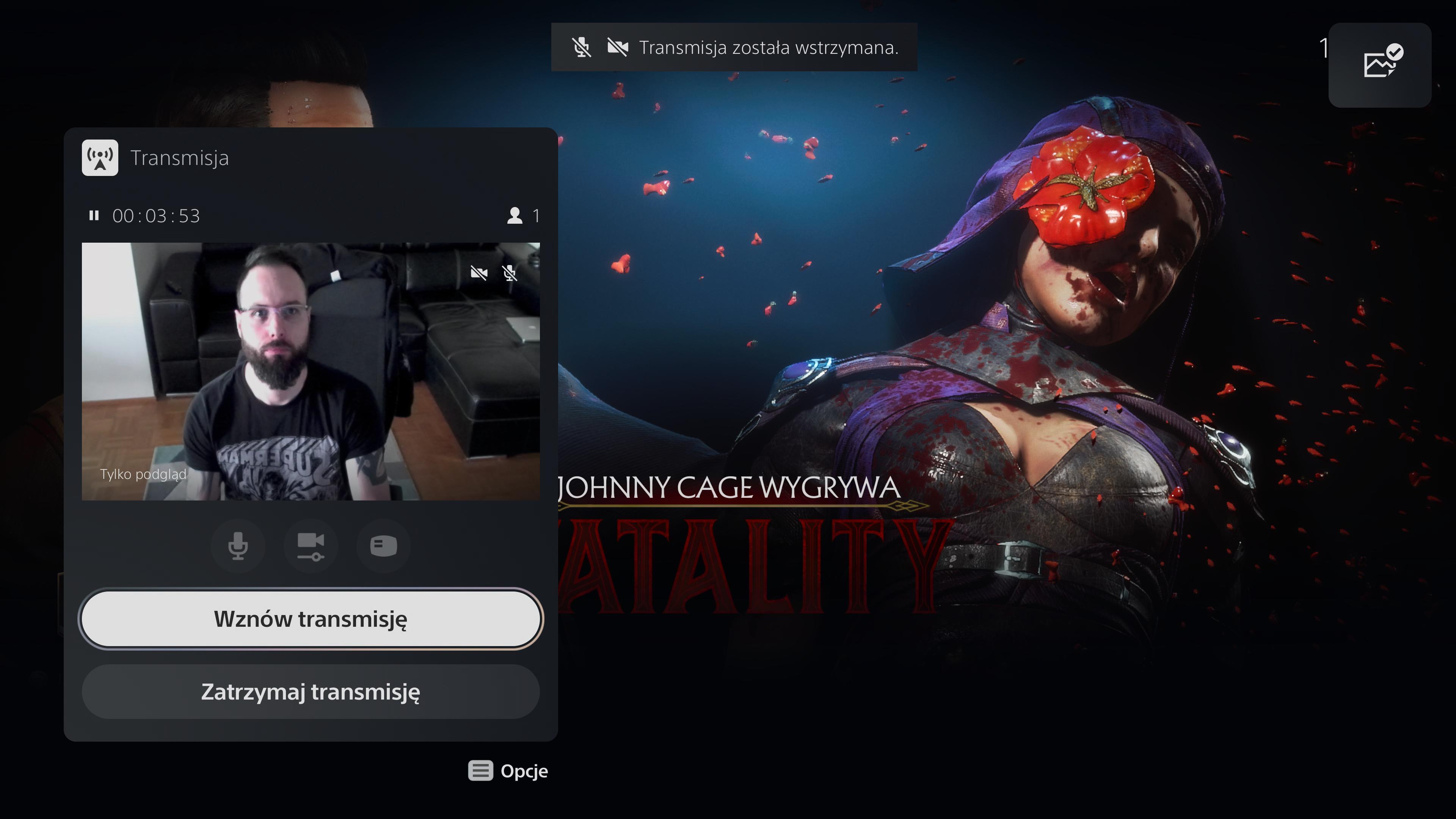 Mortal Kombat -  Sony PlayStation 5 HD Camera