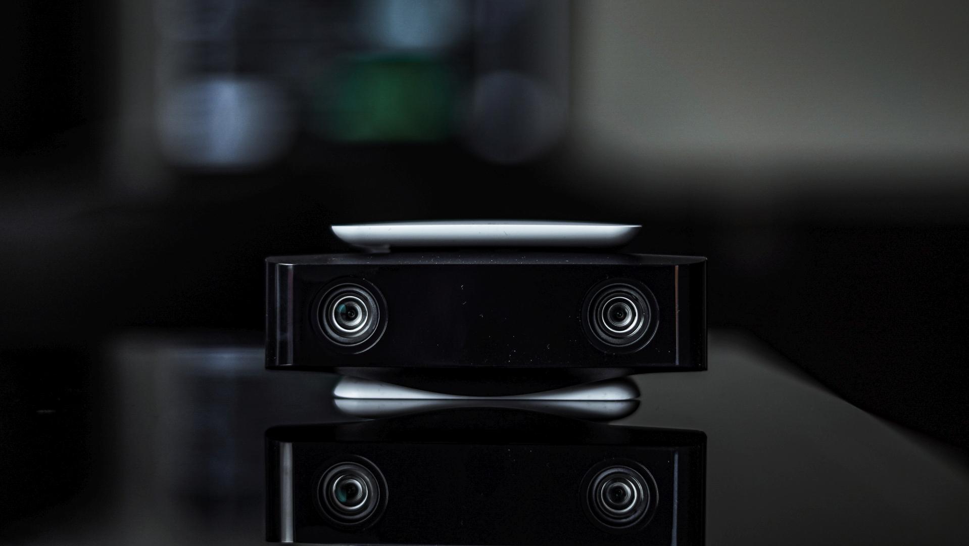 Dwa obiektywy Sony PlayStation 5 HD Camera