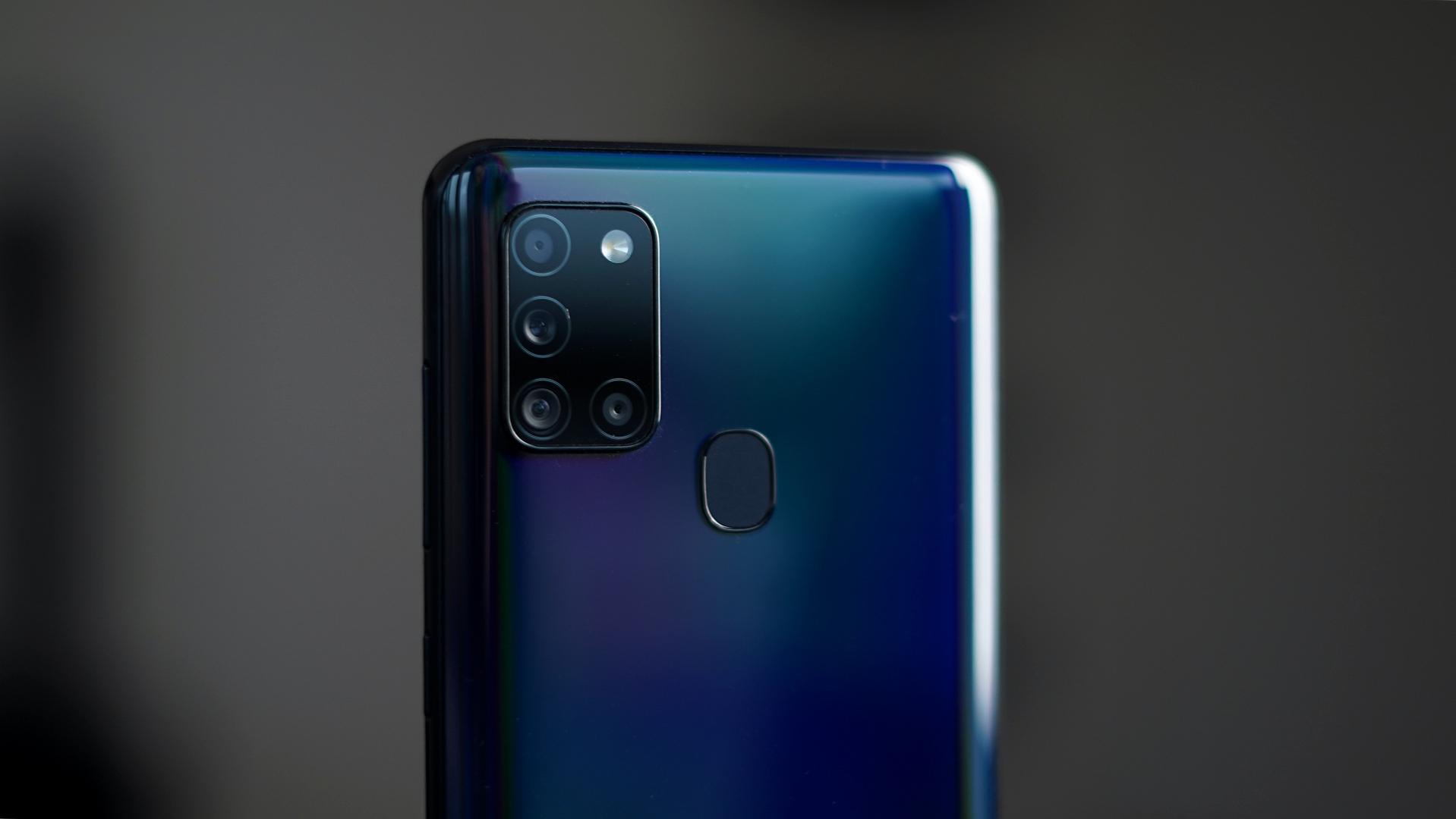 Aparaty Samsung Galaxy A21s